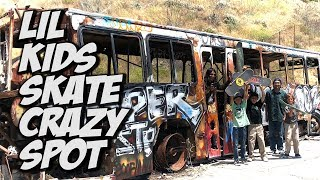 SKATER KIDS FIND CRAZY ABANDONED MILITARY BASE !!! - NKA VIDS -
