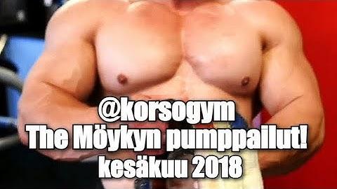 @korsogym The Möykyn pumppailut!