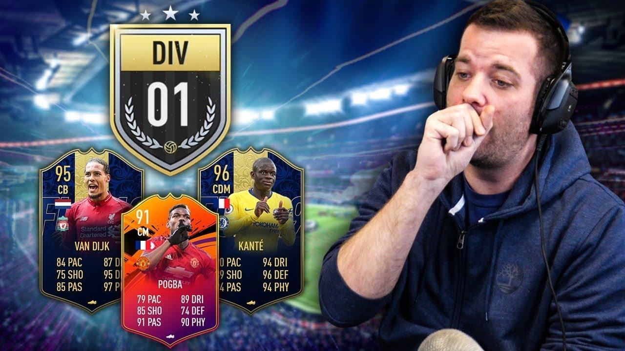 MA NOUVELLE EQUIPE EN DIVISION 1? - FIFA19