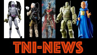 TNINews: Marvel Legends What If, Ghostbusters Afterlife Figures. DC Multiverse, MOTU And More