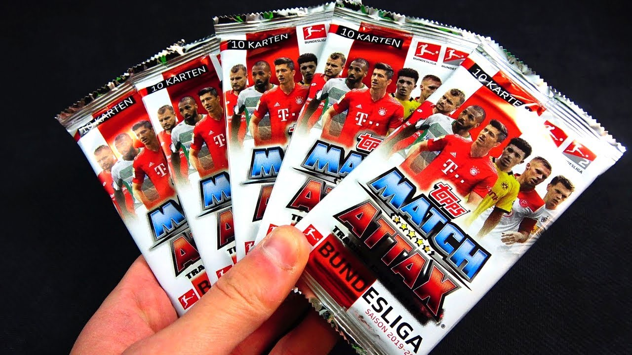 Match Attax 19 20 Bundesliga Karten Unboxing