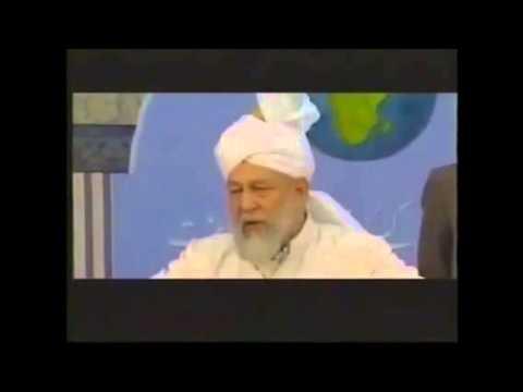 Powerful Moment with Hazrat Mirza Tahir Ahmad rh