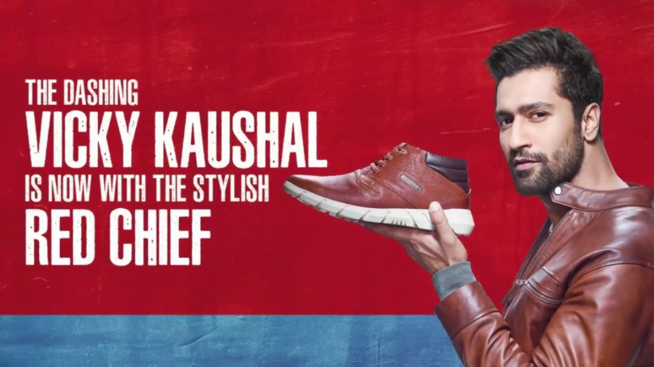 Red Chief Vicky Kaushal's Leather Shoes