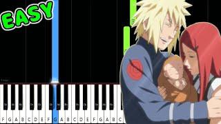 Decision - Naruto Shippuden OST - EASY Piano Tutorial [animelovemen]