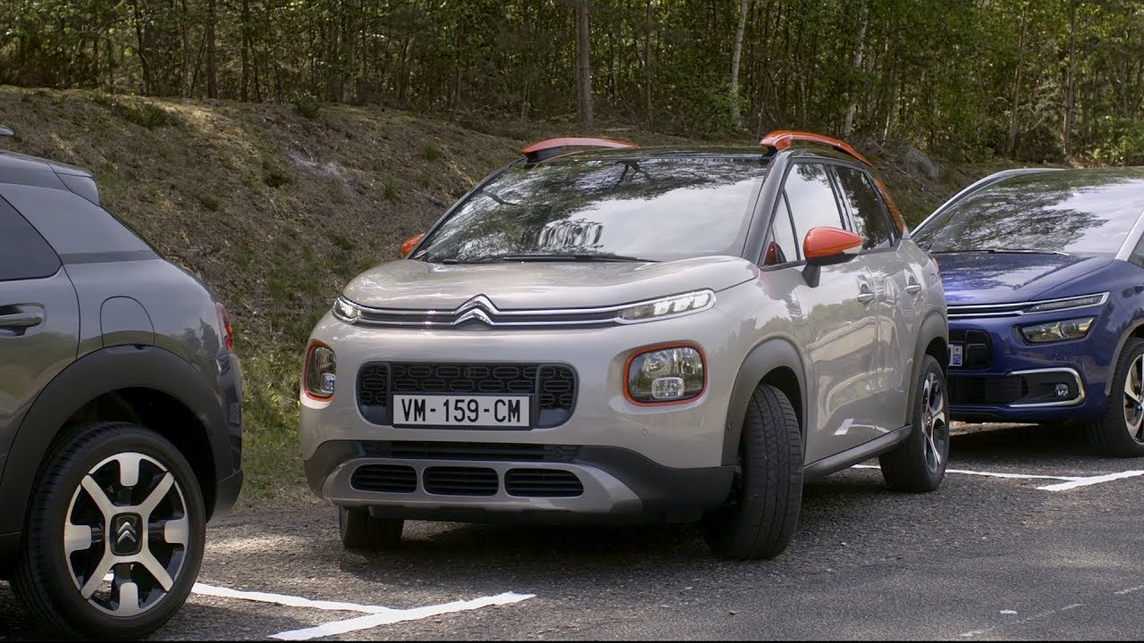 2018 citroen c3 aircross youtube. Black Bedroom Furniture Sets. Home Design Ideas