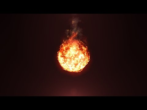 Create a Fireball in After Effects