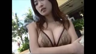 大城美和  オレンジビキニ 大城美和 動画 3