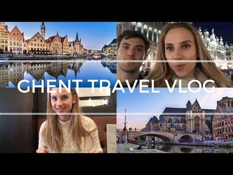 🇧🇪 EXPLORING GHENT || Travel Vlog 008 🇧🇪