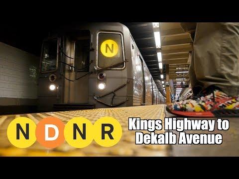 NDNR Kings Hwy to Dekalb Ave