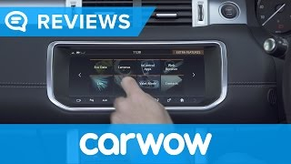 Range Rover Evoque Convertible 2017 SUV infotainment and interior review   Mat Watson Reviews