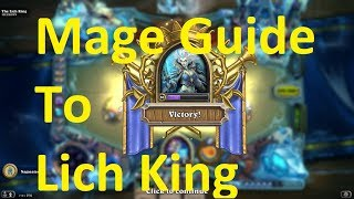 How to Beat The Lich King | Hearthstone | Simple Mage Deck