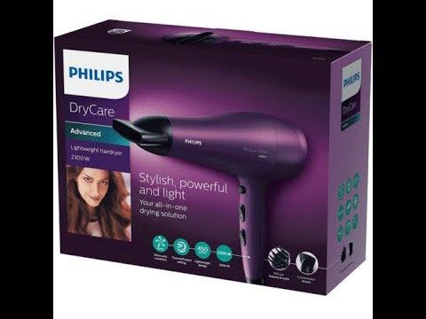 Philips Drycare Sac Kurutma Makinesi Bhd282 Youtube