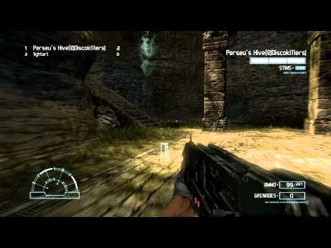 Aliens vs Predator 3 2010 Gameplay Multiplayer Pyramid + Ruins Marine