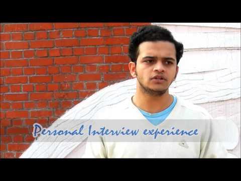 Ignicion, IIM Lucknow :Video Testimonial Nikhil (2 year work ex, Operations & Product design)