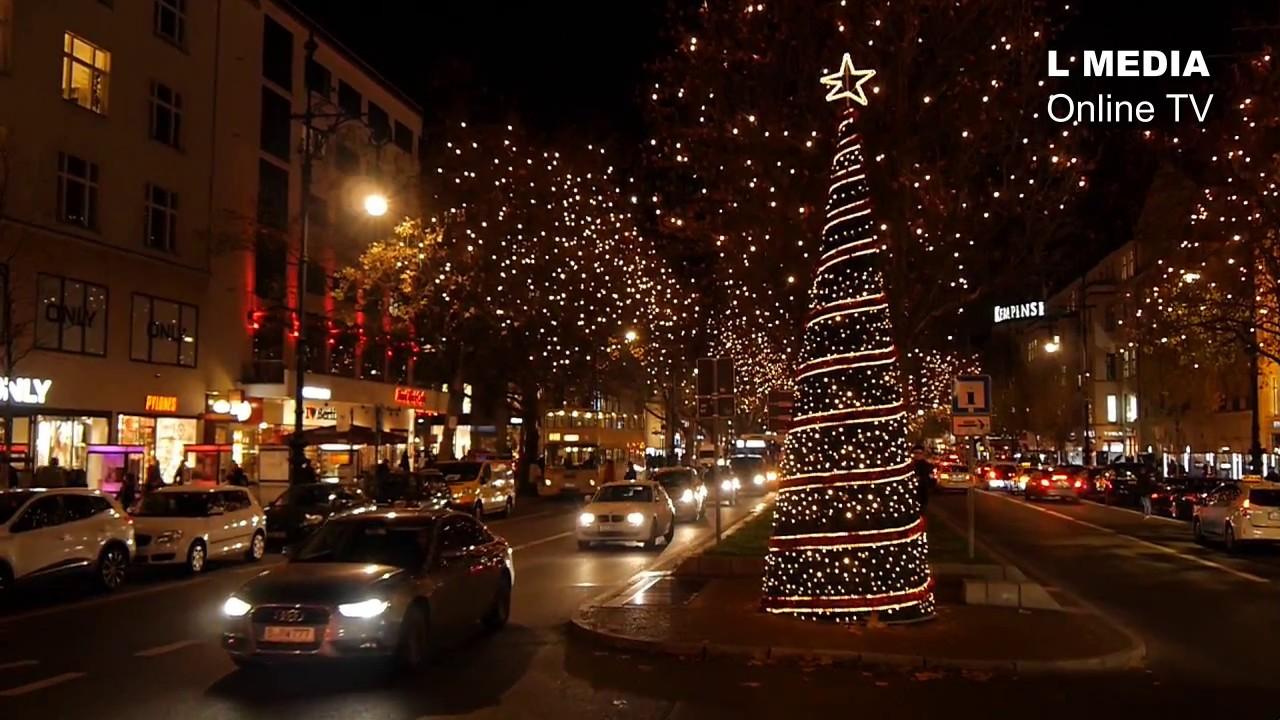 Weihnachtsbeleuchtung Kurfürstendamm.Eröffnung Der Weihnachtsbeleuchtung Am Kurfürstendamm Berlin 23 November 2016