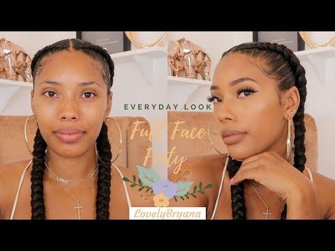 Full Face Fenty Beauty  A Natural Beat   LovelyBryana thumbnail