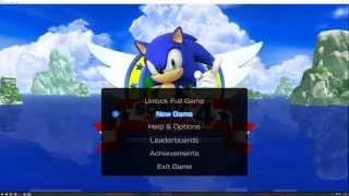 Xenia (Xbox 360 Emulator) - Sonic 4 Episode I and II