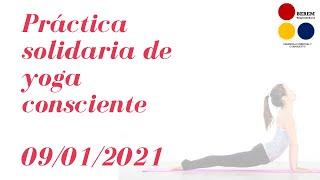 Práctica Solidaria De Yoga Consciente Enero 2021