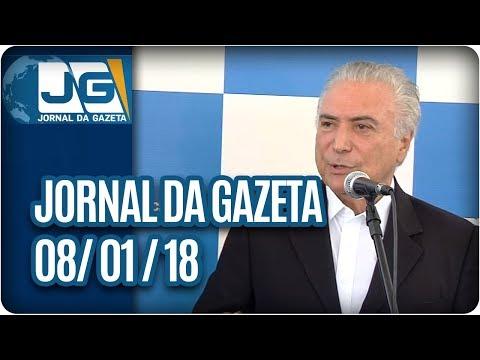Jornal da Gazeta - 08/01/2017