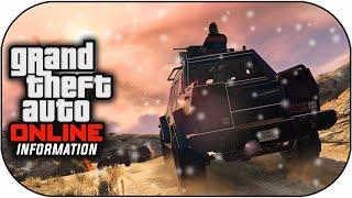 GTA 5 Christmas DLC - Snow Days & Online Heist Vehicles in Free Roam ? (GTA V Gameplay)