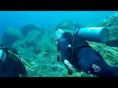Scuba Diving in Aegean Sea, Turkey 2016. Дайвинг в Эгейском море, Турция 2016.