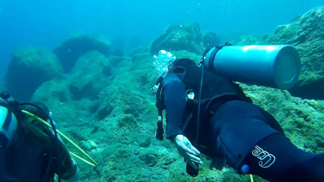 Турция, Мармарис, Дайвинг в Эгейском море, 2016. Scuba Diving in Aegean Sea, Turkey, Marmaris 2016.