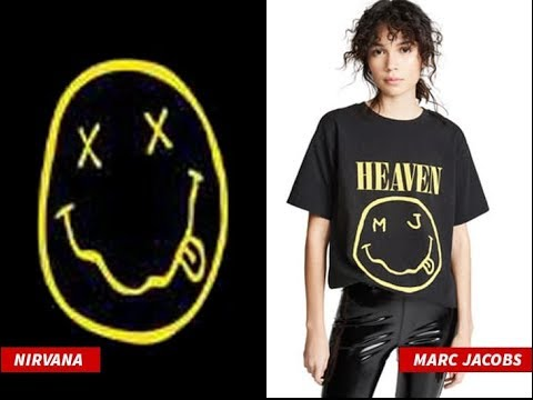 Nirvana Sues Marc Jacobs for Stealing Smiley Face Design Mp3