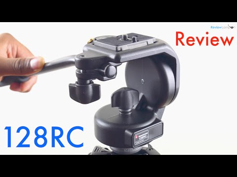 Manfrotto 128RC Micro Fluid Head Review and Test - with Panasonic G7