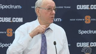Jim Boeheim gets heated after Syracuse win vs. Pittsburgh