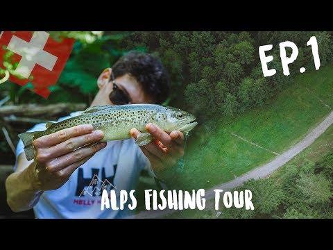 Un PARADIS Entre Les Montagnes ! Alps Fishing Tour EP1