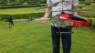 RC Toys BR6508 130cm 2.4G 3 Channel Big RC Helicopter with Camera from China Hobby Model Factory