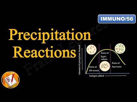 Precipitation Reactions and Precipitation Curve (Diagnostic Immunology) (FL-Immuno/56)