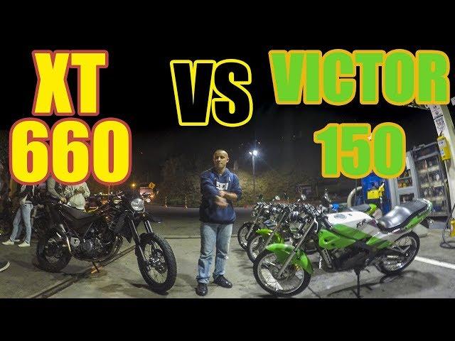 Yamaha XT 660 VS  Kawasaki Victor 150