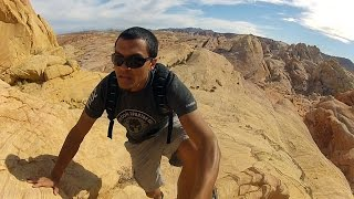 Hiking Valley of Fire State Park in Las Vegas with GoPro