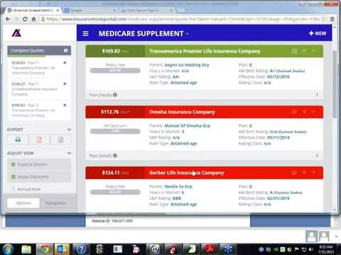 New Medicare Supplement Quoting Tool!