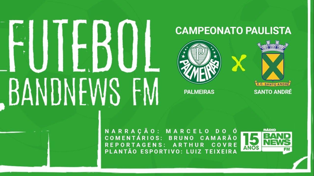 FUTEBOL BANDNEWS - PALMEIRAS x SANTO ANDRÉ - 29/07/2020 - YouTube