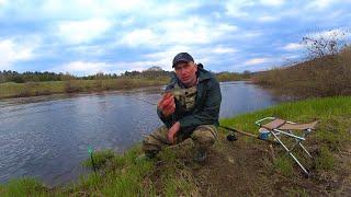 Рыбалка на фидер ранней весной на реке Открытие сезона