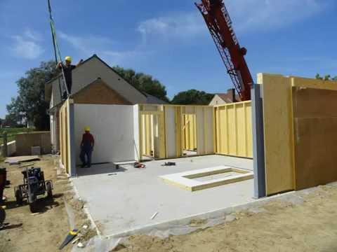 Bj concept building group houtskeletbouw bij een woning for Houtskelet schuur