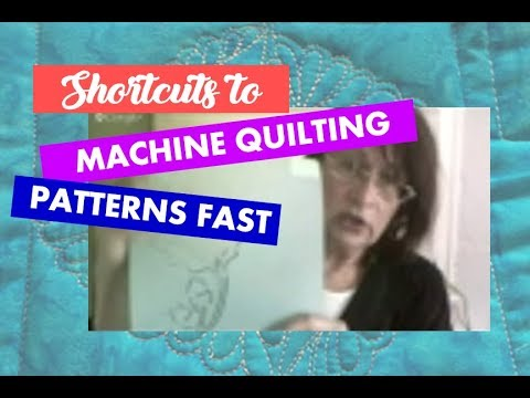 "Finding ""Machine Quilting Pattern Ideas"" Quick & Solving the Time Crunch"