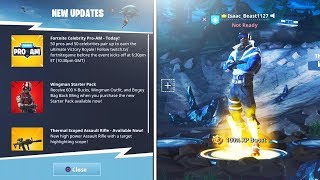 "FREE NEW PLUS ""Blue Striker"" SKIN *EPIC* (New Fortnite Battle Royale Update)"