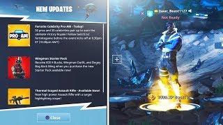 "FREE NEW PLUS ""Blue Striker"" SKIN *EPIC* (New Fortnite Battle Royale Update)"