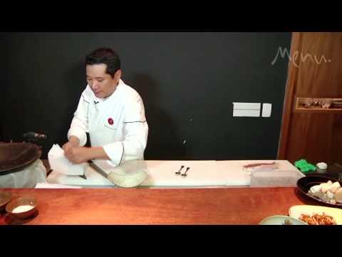 Receita do mês - sashimi e sushi de pargo
