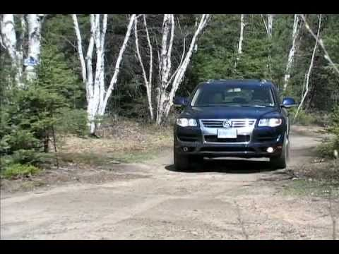 Volkswagen Touareg TDI video review