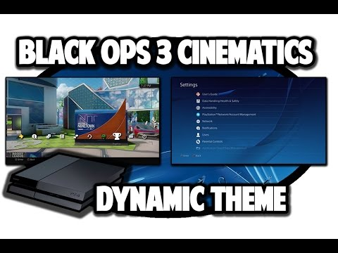 [PS4 THEMES] Black Ops 3 Cinematic Dynamic Theme Video In 60FPS