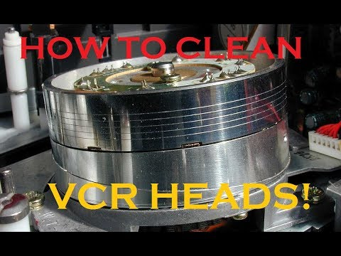 How To Clean VCR Heads - Improved Method