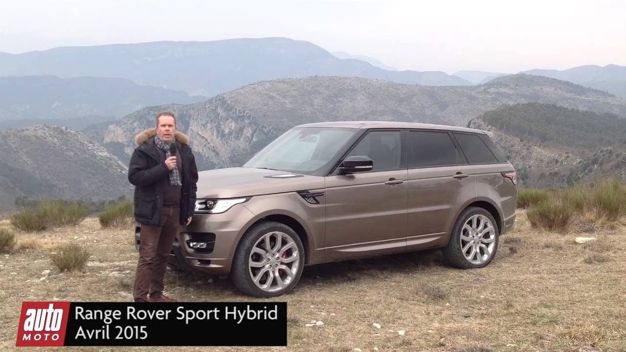 range rover sport sdv6 hybride 2015 essai complet avec automoto youtube. Black Bedroom Furniture Sets. Home Design Ideas
