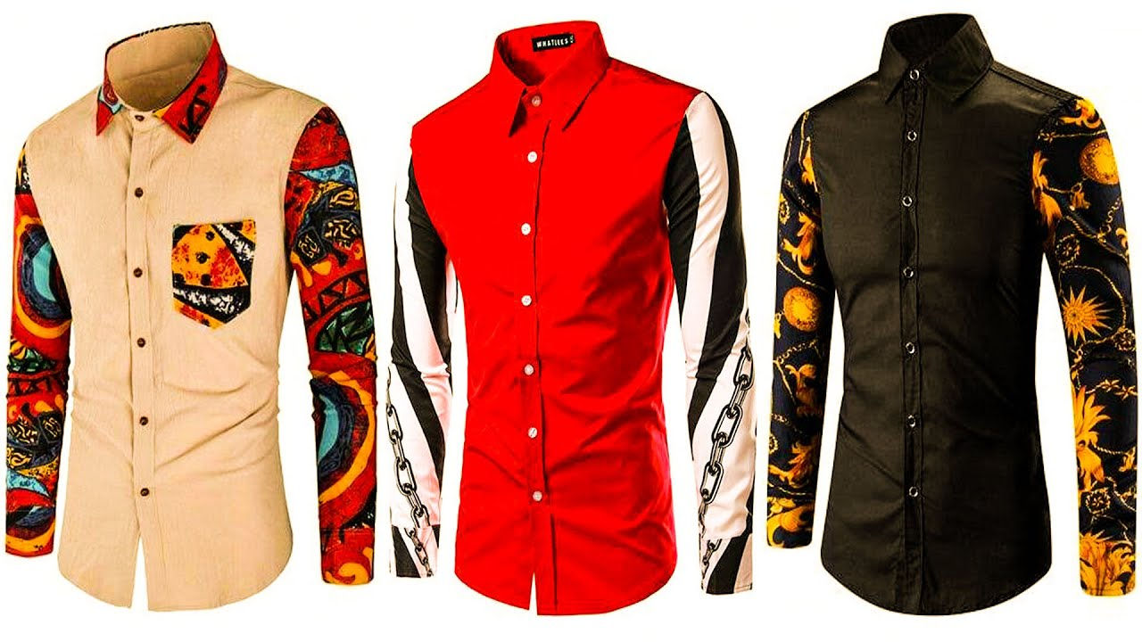 Very stylish and beautiful shirt design for gents\boys trendy shirt design 2020 AMBER STITCHING