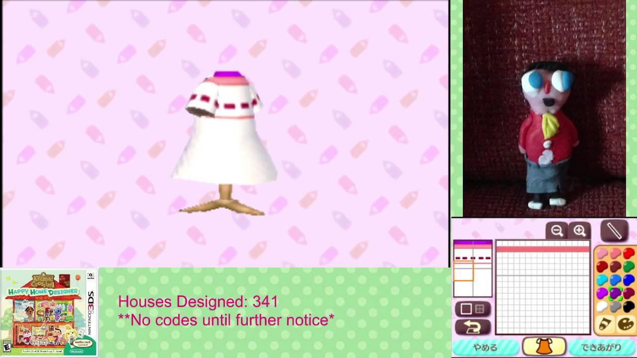 Animal Crossing: Happy Home Designer Let's Make Patterns - YouTube on happy home blog, happy home designer apps, happy home designer art,