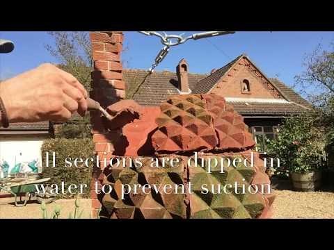 the fine art of brickwork - Brick Pineapple