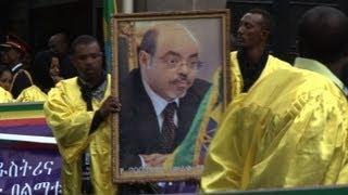 Etiopía llora a Meles Zenawi